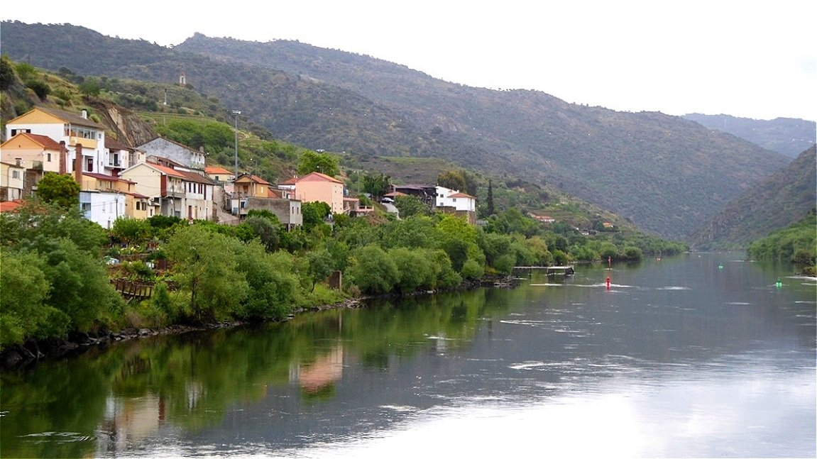 "Fahrt in Richtung ""Douro Superior"""