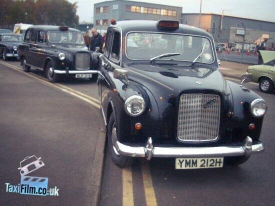Black Austin Fx4 Taxi 1960/70's,  Bolton ref F0103
