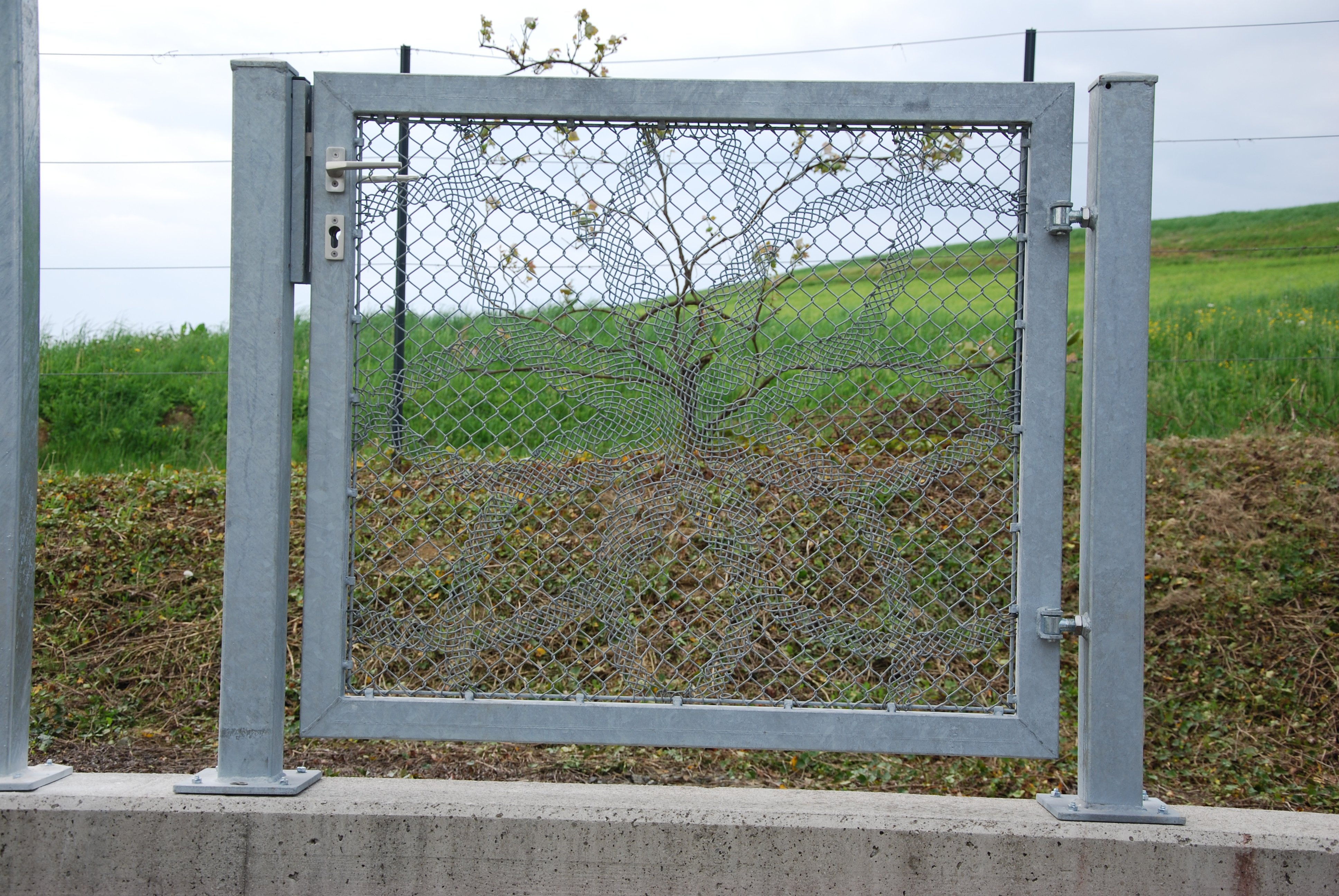 Lace Fence Designtür - € 600,-