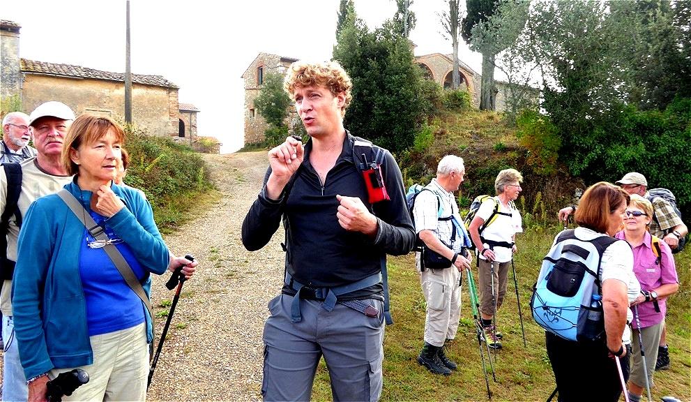 Till - unser Wanderführer und Experte für Olivenöle