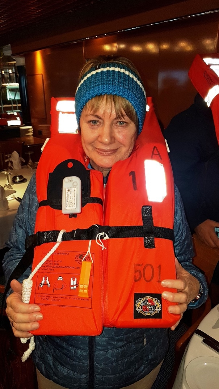 Seenotrettungsübung - Irene macht eine gute Figur