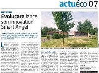 Evolucare lance son innovation Smart Angel Entreprises 80 - Juillet 2017
