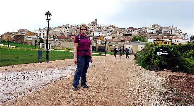 """Cirauqui -  baskisch Zirauki, in der spanischen Region Navarra, bedeutet """"Kreuzotternnest"""""""