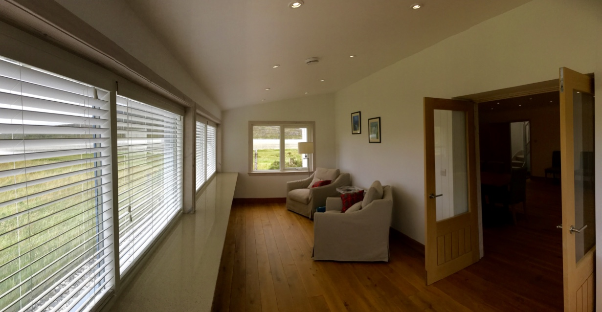 Conservatory next to sitting room