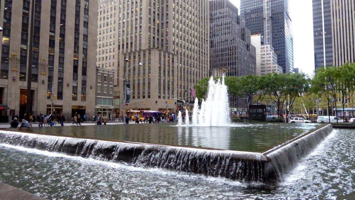 Auf dem Weg zum Rockefeller Center