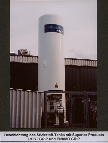 Stickstofftank
