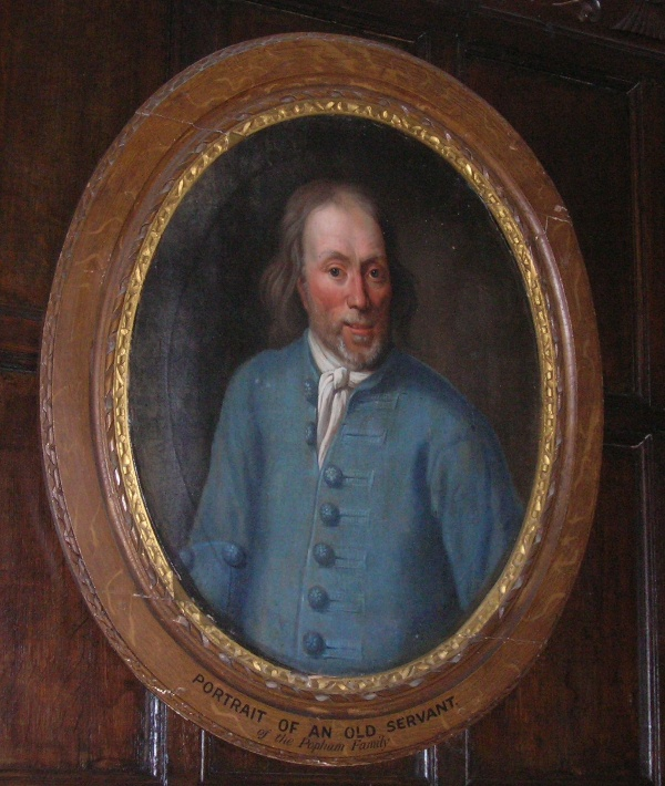 Portrait of an old Popham servant