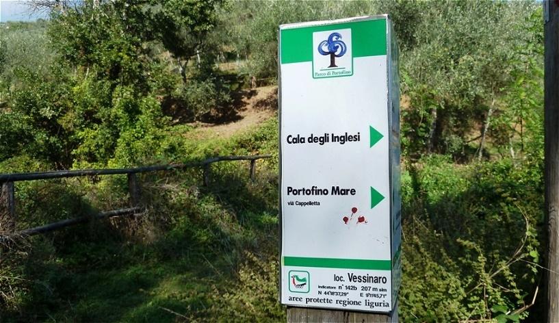Cala degli Inglesi - Küste der Engländer In den letzten beiden Jahrhunderten ließen sich viele reiche Engländer hier nieder