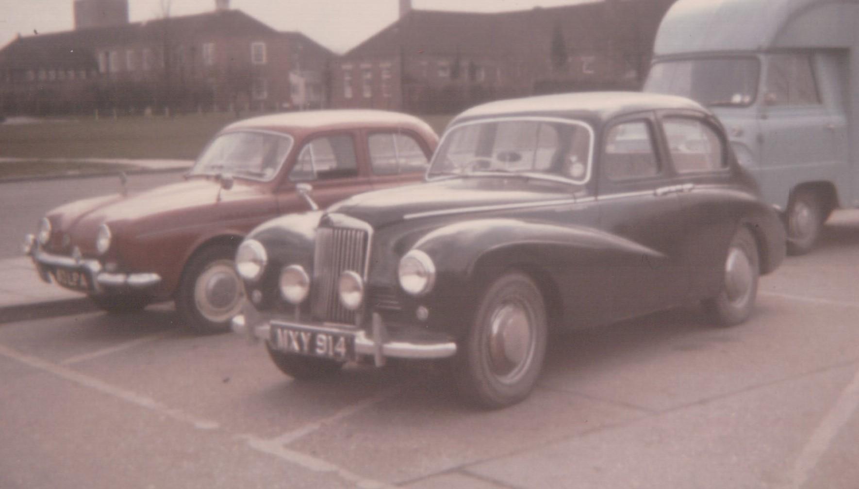 1952 Sunbeam Talbot 90 Mk IIa at Harwell 1965