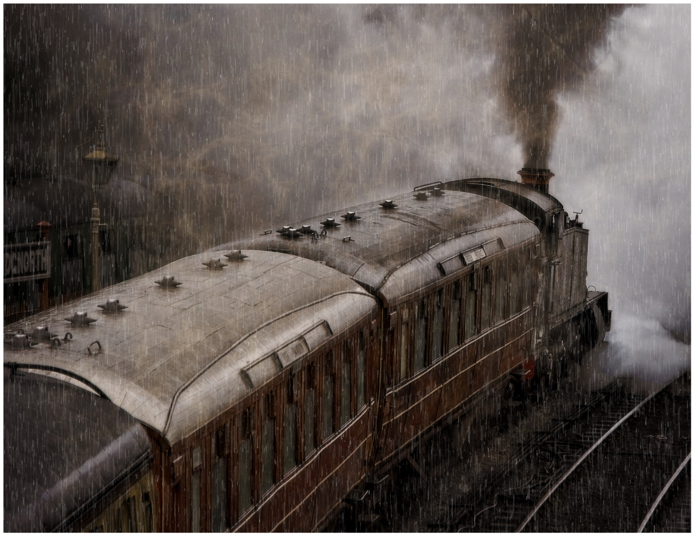2nd Place: Ghost Train (Fraser Johnston)