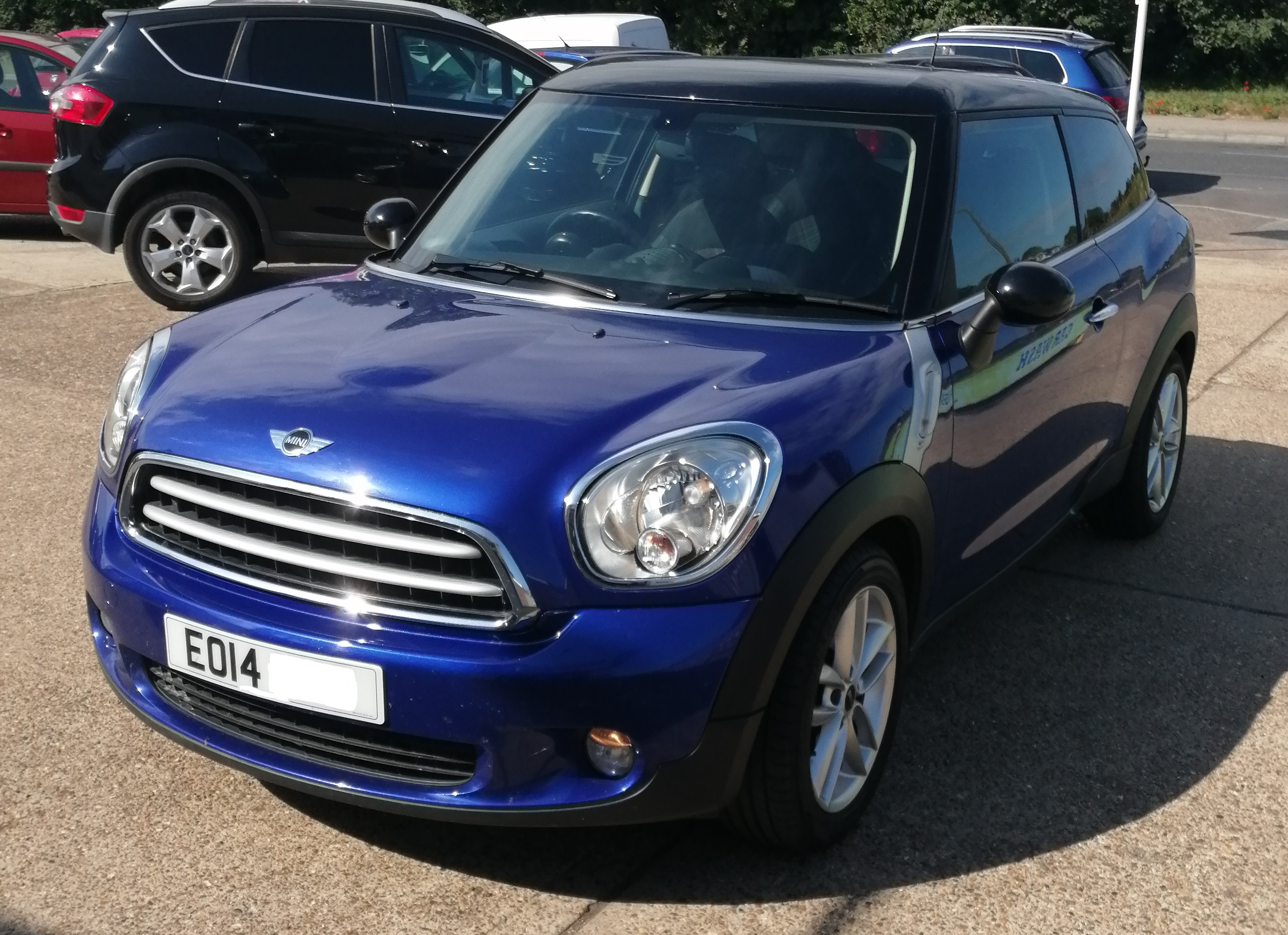 Mini Paceman Cooper D 1598cc - Diesel 2014 / 14 77,100 miles Service History Spare Key *** ONLY £30 per year Road Tax £6995