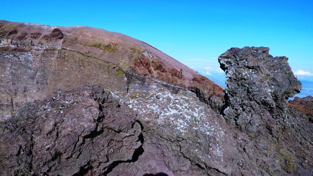 Erstarrte Lava