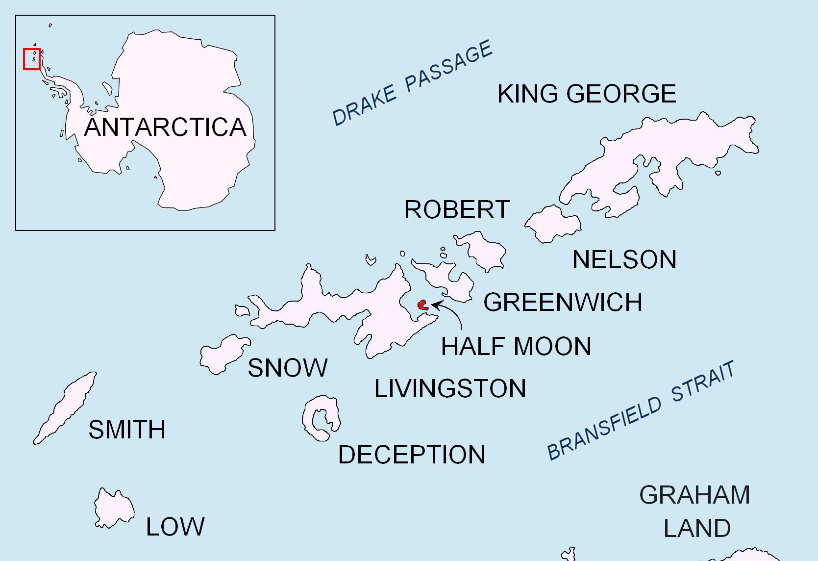Half Moon Island - Südshetlandinseln