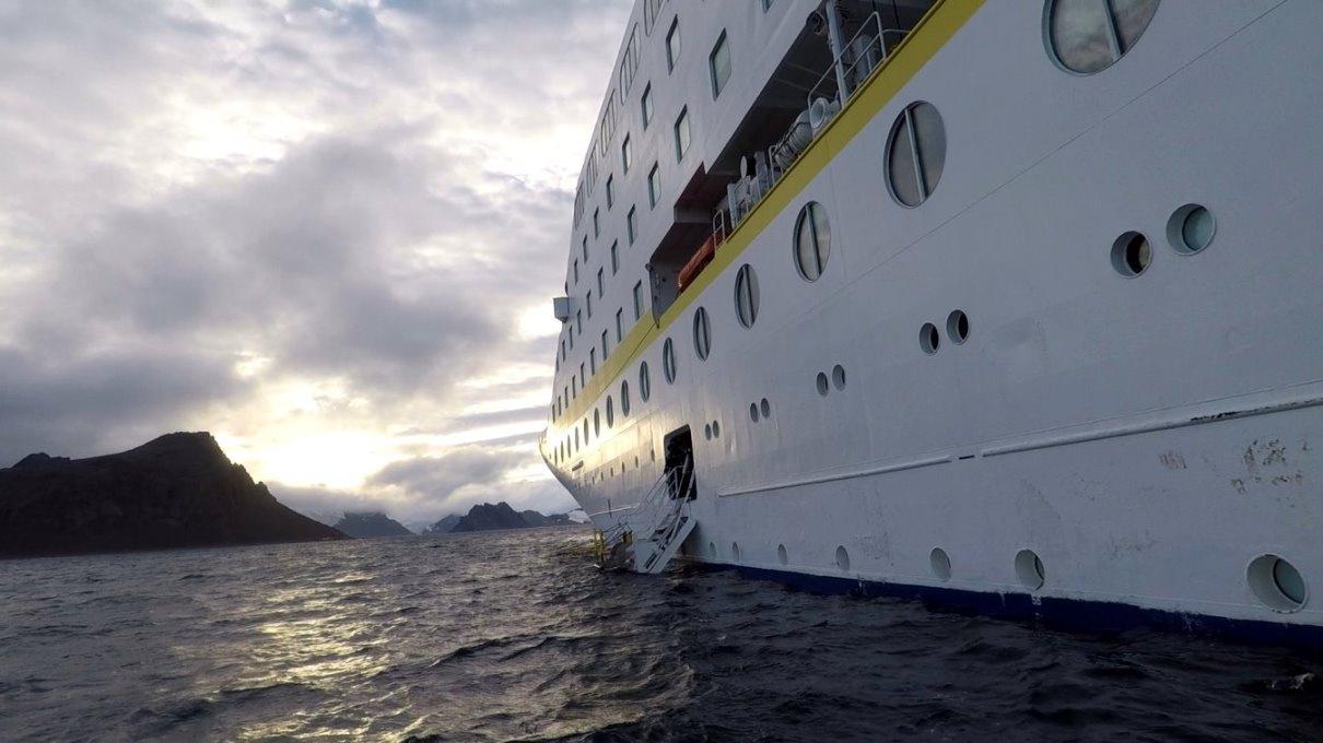 Am Ende unserer Gletschertour