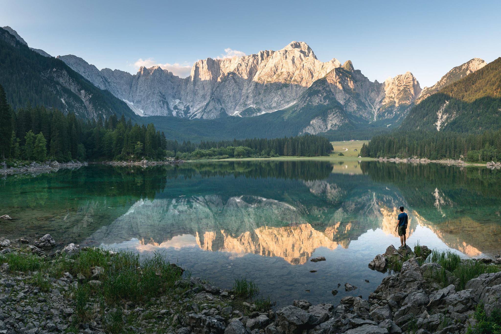 Laghi di Fusine, Italien (ca. 30 km)