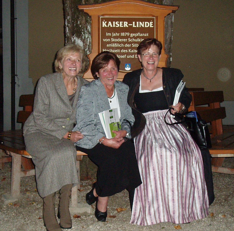 v.l.n.r. Rosemarie Spindler, Lore Riermeier, Siegrid Pammer