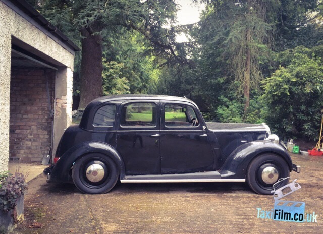 Black 46' Rover 10 Glasgow ref C0002