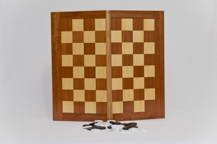 ΚΩΔ. 1048Π Τάβλι σκάκι Πολυτελείας Ξύλινο 50x50cm