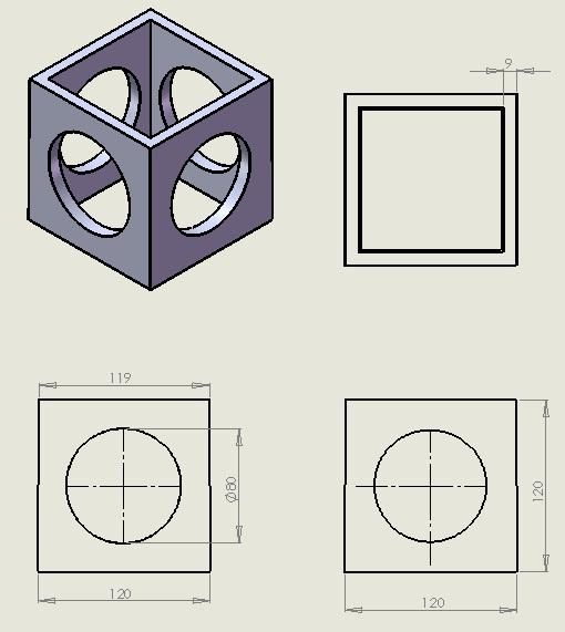 2-Plan module cubique