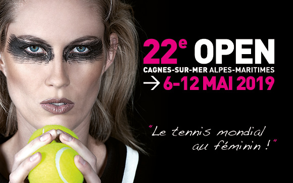 Open de tennis international féminin de Cagnes sur Mer Alpes Maritimies
