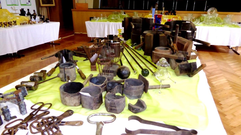 Glasmacherwerkzeuge und Modeln