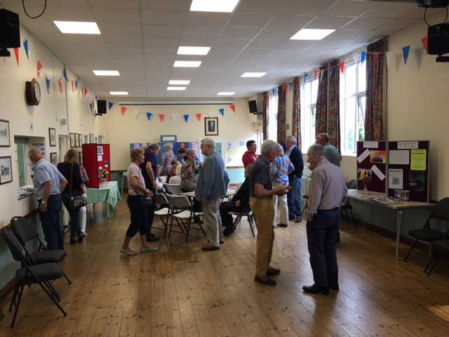 We were pleased to welcome many visitors to the hall 04.09.21