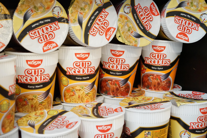 Die leckeren Cup Noodles von Nissin findet ihr bei uns auch.