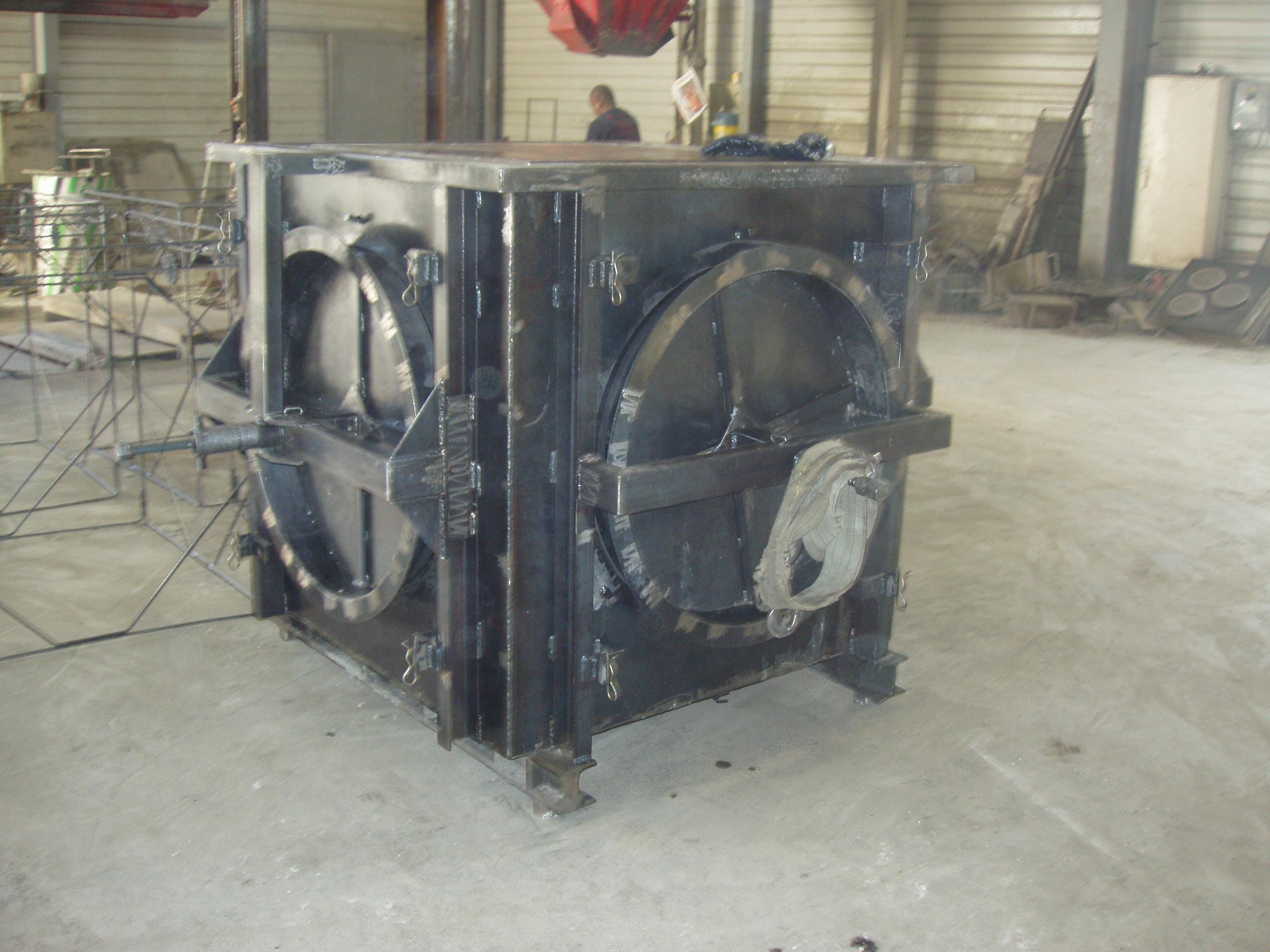 4-Moule de coulage en acier