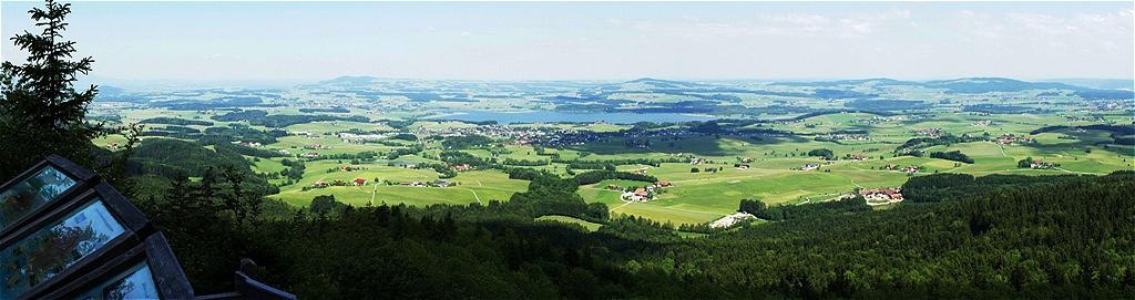 """Steinwandl - Panorama Rechts unten """"Gut Aiderbichl"""""""