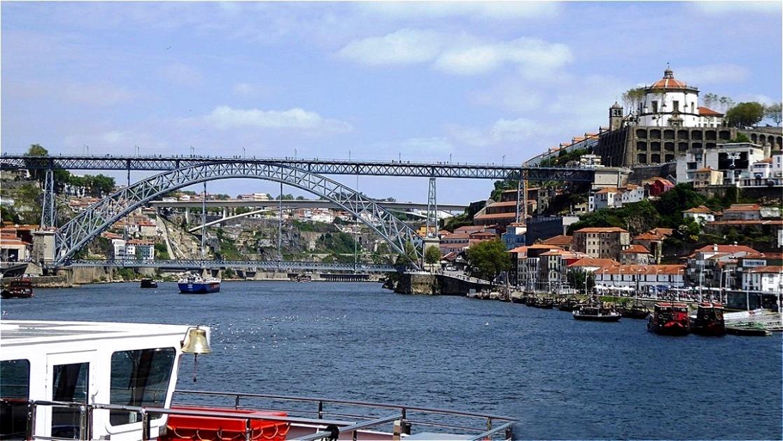 Ponte Dom Luis I und Kloster Serra do Pilar