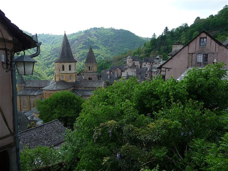 Die Klosterkirche mit dem Schrein der Heiligen Fides