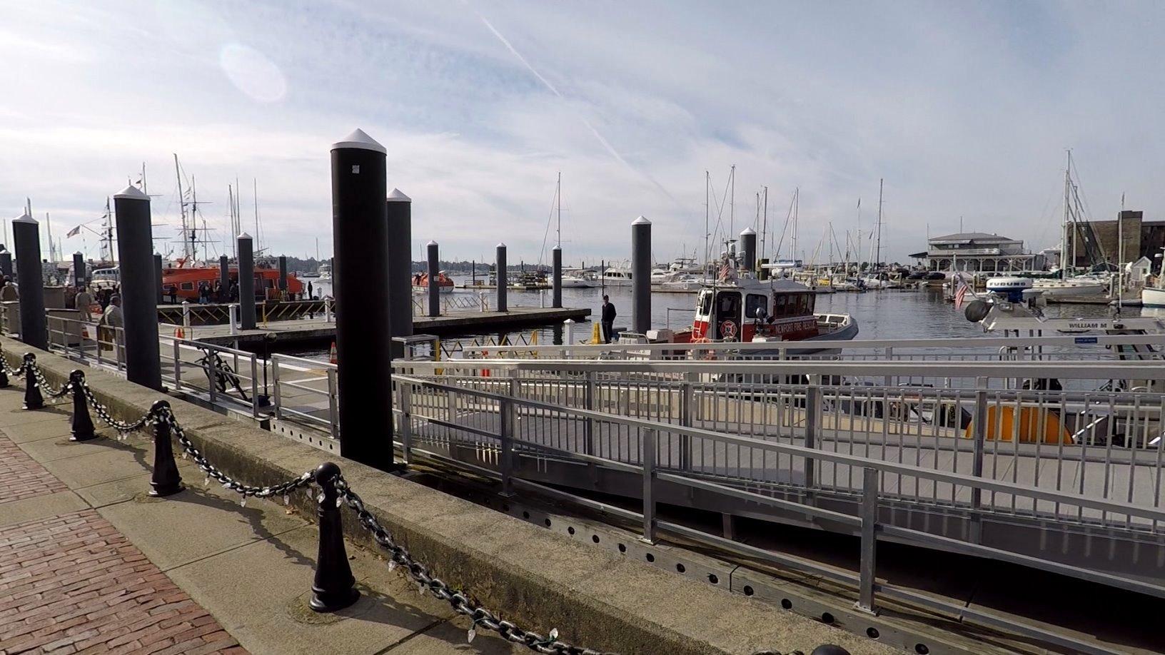 Newport Hafengelände