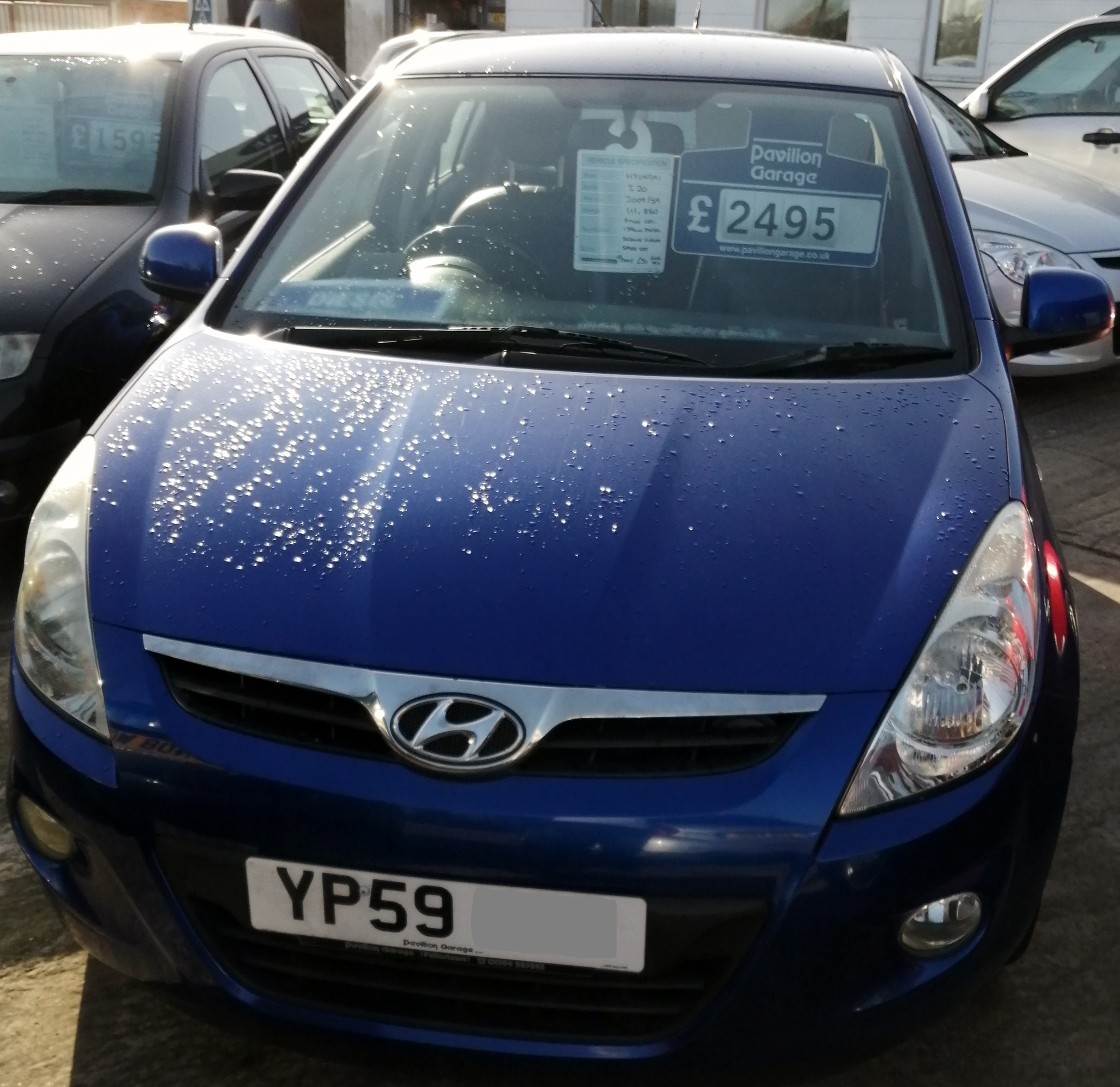 Hyundai I20 Style CRDI 1396cc - Diesel 2009/59 111,850 Miles Service History Spare Key *** ONLY £30 per year Road Tax*** £2495