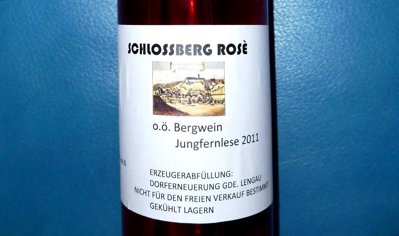 Unser erster Wein - Jahrgang 2011