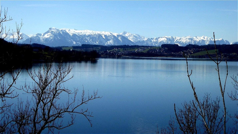 Südblick vom Wartstein über Obertrumer See