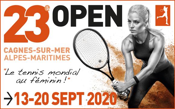 Open de tennis international féminin de Cagnes sur Mer Alpes Maritimies