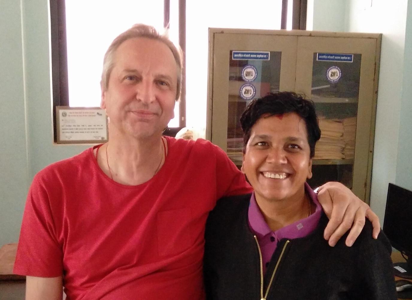 """Mars 2017 : Rénu présidente de la """"Women's Fondation of Népal"""""""