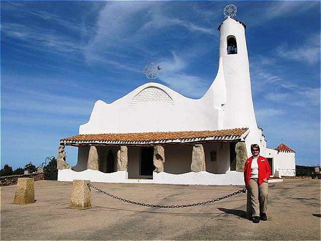"""Kirche Stella Maris - """"Stern des Meeres"""" ist ein schmückender Titel für Maria, die Mutter Jesu, Schutzpatronin der Seeleute"""