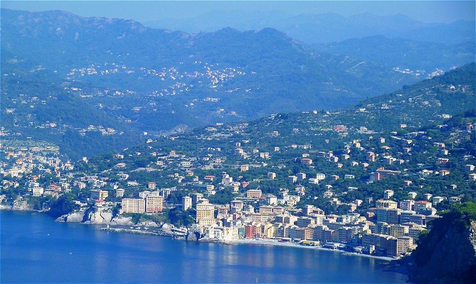 Camogli an der  Küste Liguriens