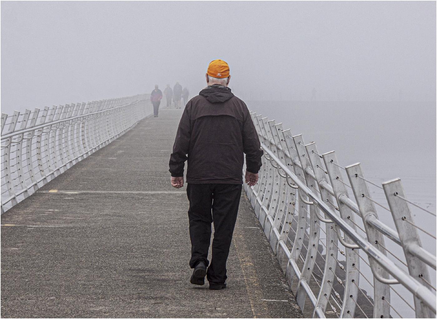 Commended: Man with Orange Hat (Julie Oakley)