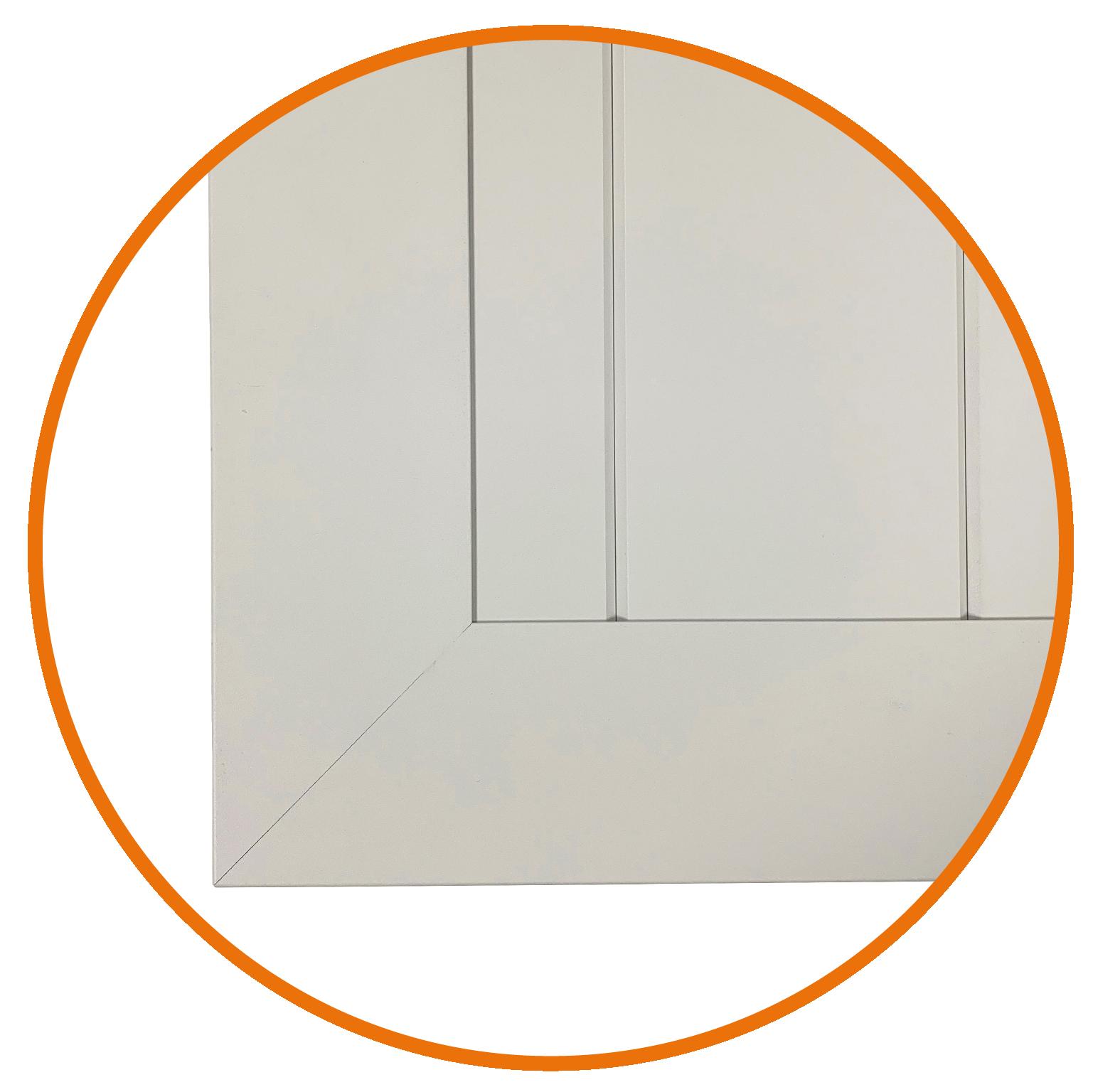 Modèle présenté : ISOS CA avec rainurage vertical.