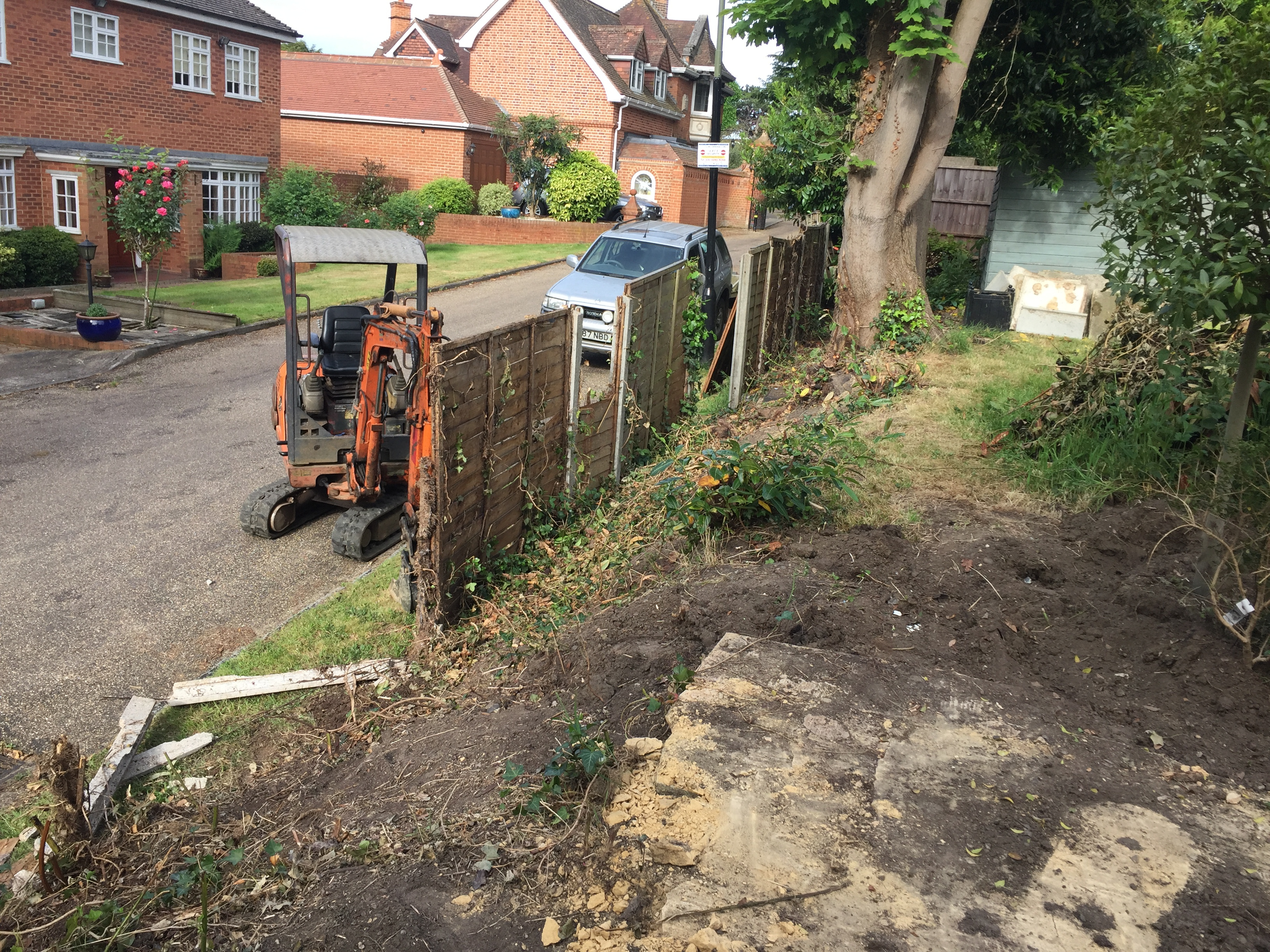 Before Preparing For New Fence Orpington.
