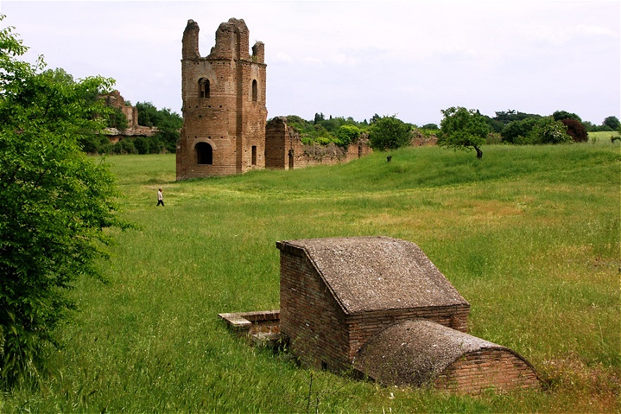 Reste antiker Bauten