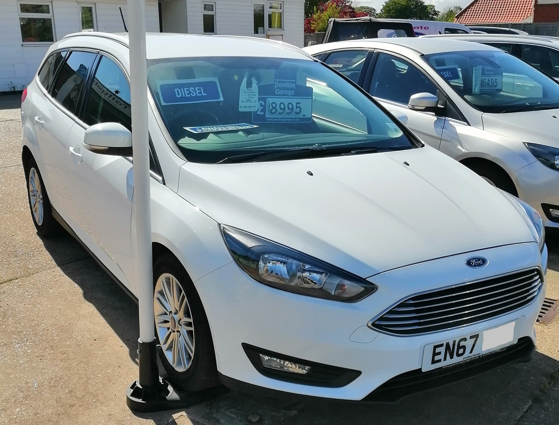 Ford Focus Zetec Edition TDCi Est 1499cc - Diesel 2018 / 67 82,100 miles Service History Spare Key £155 per year Road Tax £9695  In daily use