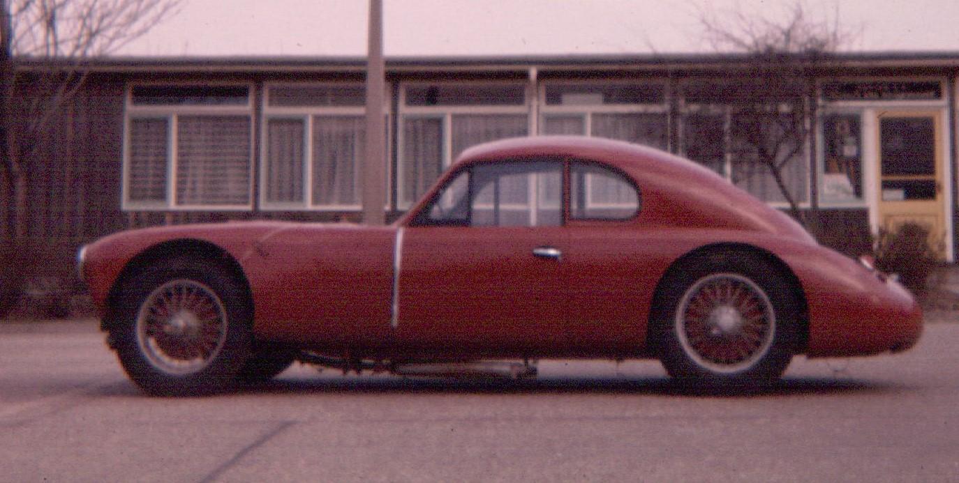 SS Jaguar 1.8 special at Harwell 1965