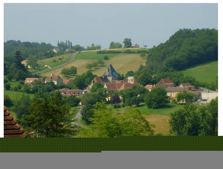 le village de BARS en Périgord noir